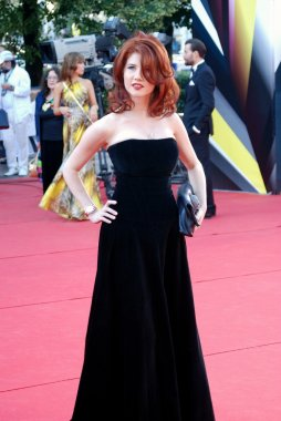 Anna Chapman at Moscow Film Festival