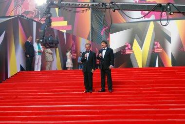 Boris Berman and Ildar Zhindarev at Moscow Film Festival