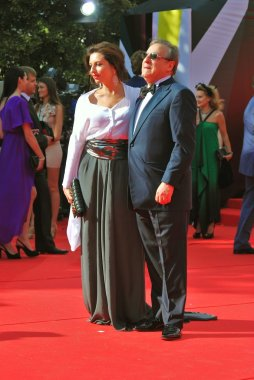 Alisa and Gennady Khazanovy at Moscow Film Festival