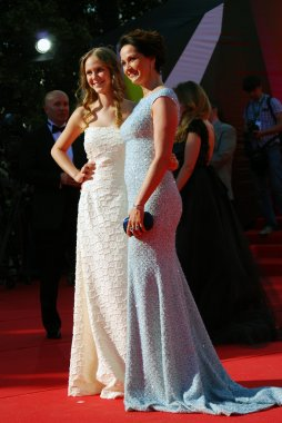 Actress Olga Kabo at Moscow Film Festival