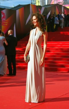 Actress Lyanka Grui at Moscow Film Festival