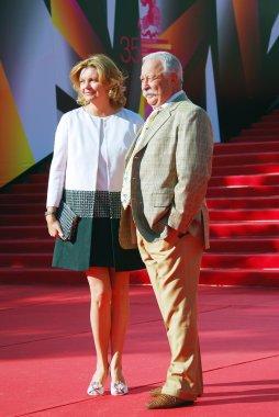 Leonid Yakubovich at Moscow Film Festival