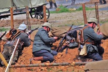 Osovets battle reenactment