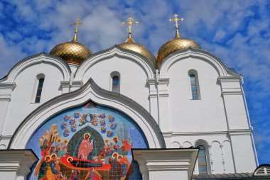 """Картина, постер, плакат, фотообои """"успенская церковь в ярославле ."""", артикул 71428009"""