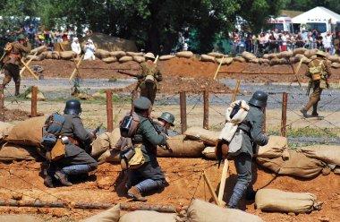 Mincer Nivelle battle reenactment