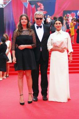 Strizhenovs at Moscow Film Festival