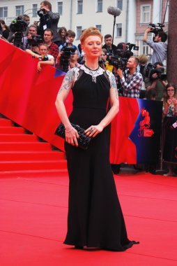Actress Amalia Amalia at Moscow Film Festival