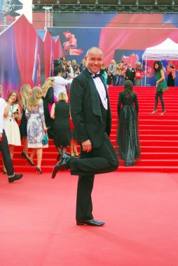 Actor Maxim Averin at Moscow Film Festival