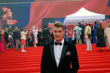Actor Alexey Vorobyov at Moscow Film Festival