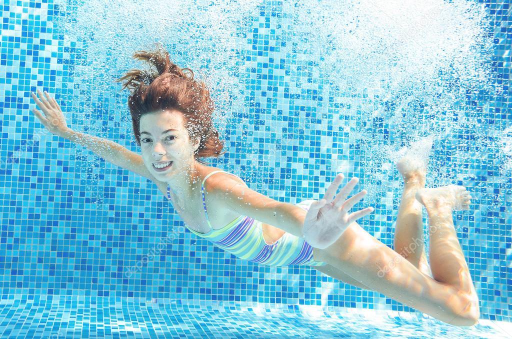 Happy Child Underwater Stock Of Positive Pornhub Premium 1