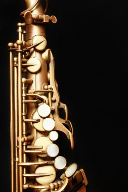 Saxophone close up alto sax closeup