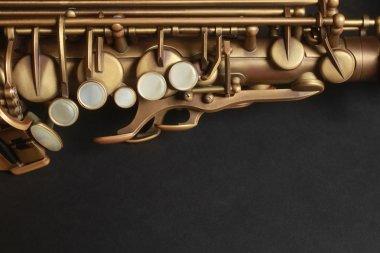 Saxophone alto sax close up details