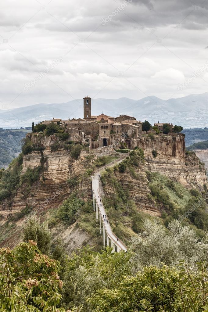 Civita di Bagnoregio 2 — Fotografias de Stock © salvo77_na #86396432