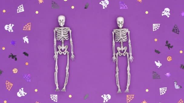 Stop-Motion-Video zu Halloween 4K.
