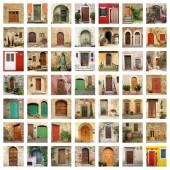 Staré dveře v Itálii