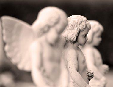 Little angelic statues