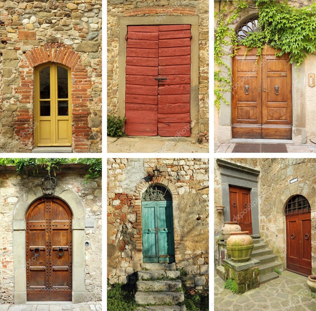 Tuscan Doors Tuscan Green Doors