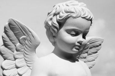 vintage Angelic statue