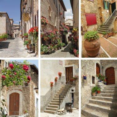 Italian sunny streets