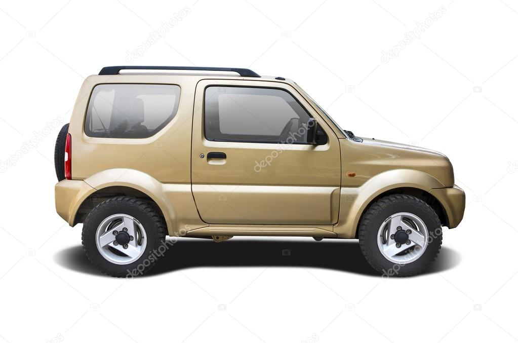 Gold Suv Car Isolated On White Stock Editorial Photo C Pixellio