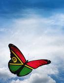 Vlajka Vanuatu motýl