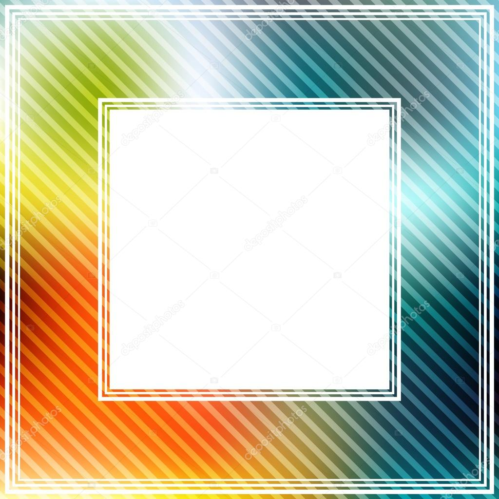 abstract border with bright orange and blue spots photo by tokhiti