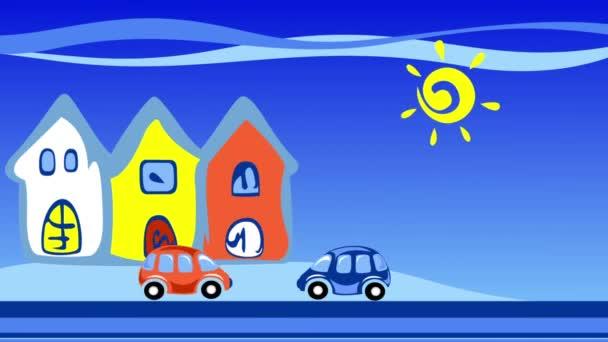 Město a auta