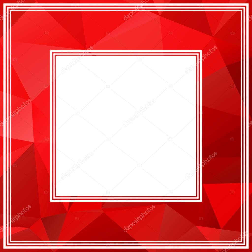 roter Rahmen — Stockvektor © tokhiti #71642687
