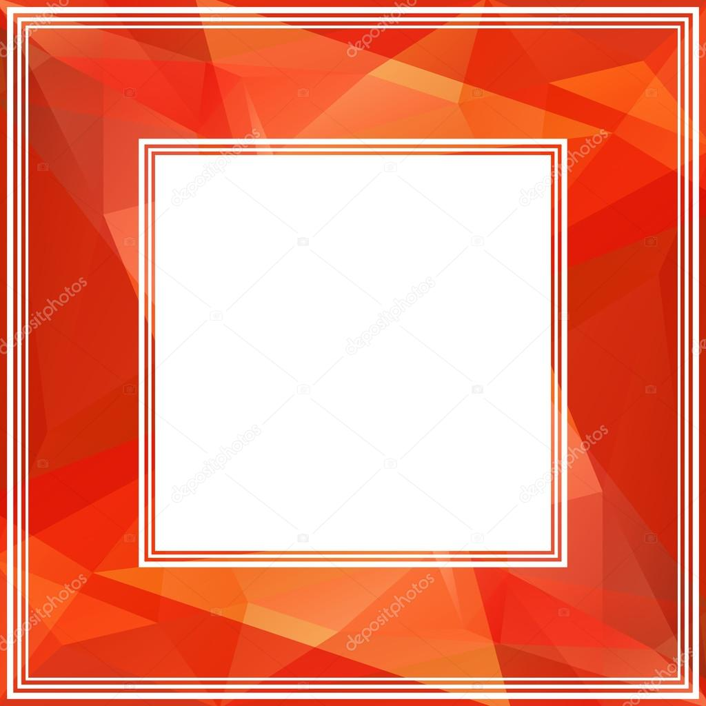 roter Rahmen — Stockvektor © tokhiti #78180424