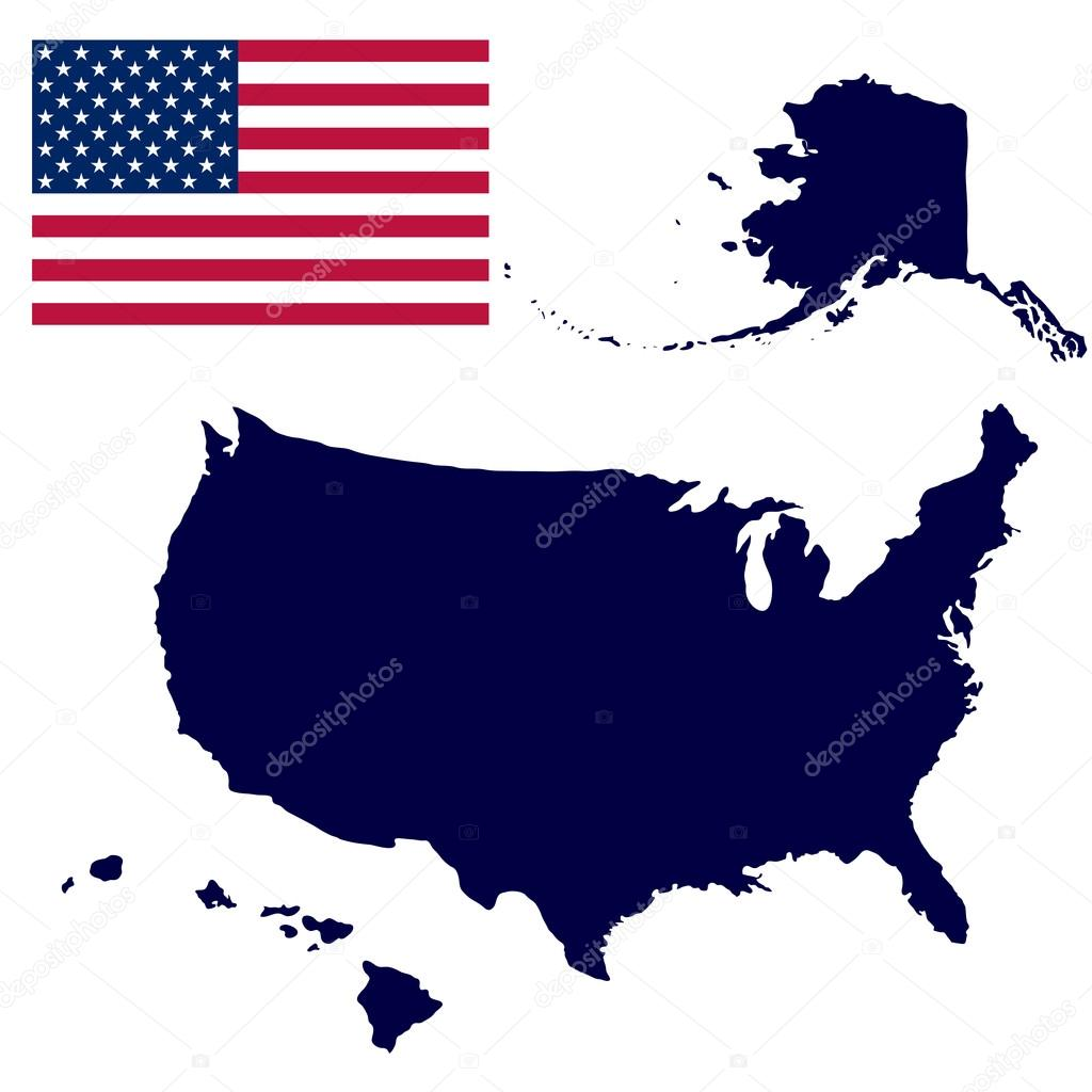 American Map Vector.United States Of America Map Stock Vector C Pavlentii 78349474