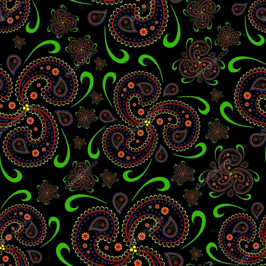 Must see Wallpaper Dark Teal - depositphotos_80304944-stock-illustration-seamless-paisley-wallpaper-asian-style  Photograph_433354 .jpg