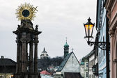 Fotografie Banské Štiavnice historické Panorama