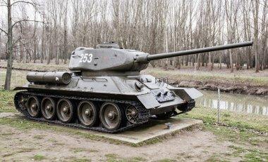 Soviet tank T-34-85 of the World war II