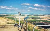 Okružní dalekohled a Slovenské krajiny, ilustrace s c