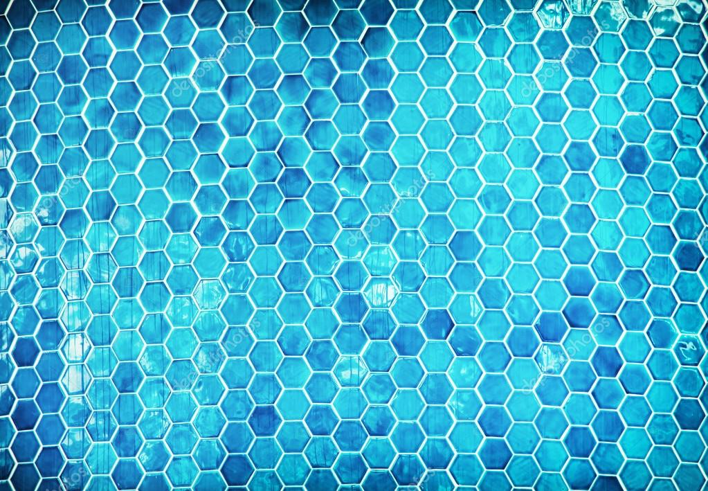 swimming pool background. Blue Hexagon Mosaic Swimming Pool. Summer Vacation. \u2014 Photo By Vrabelpeter1 Pool Background