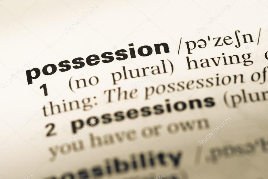 Image result for Possession, word