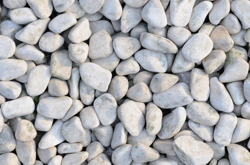 le dernier b8f34 0ed4b Naturellement poli fond de cailloux de roche blanche ...