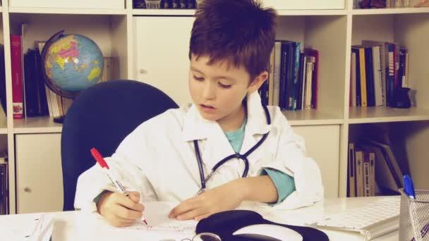 Dítě psát léky předpis