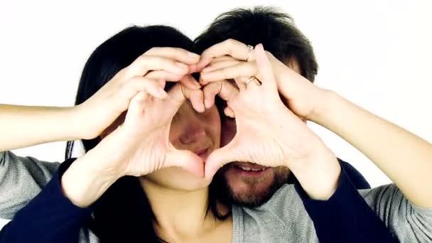 boldog pár a szerelemben