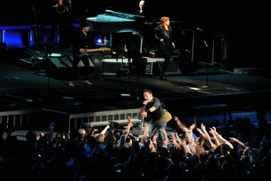Bruce Springsteen's concert at Madison Square Garden