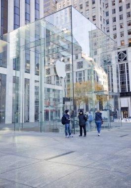 Apple Store cube