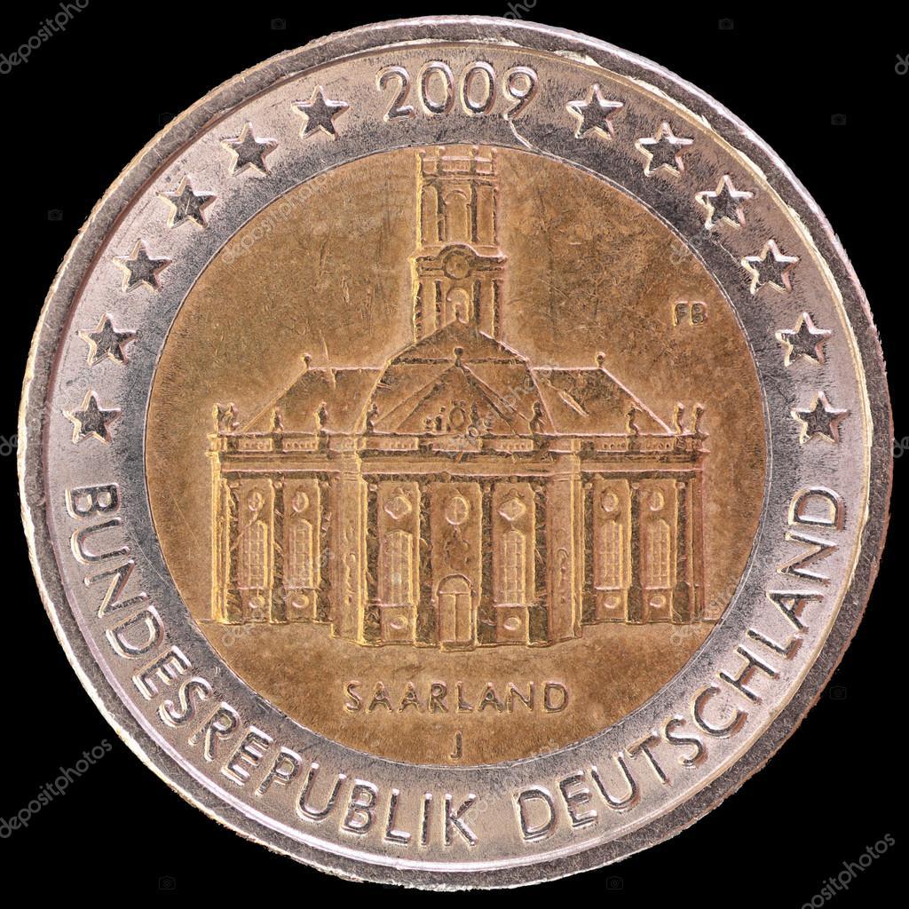 Gedenk Zwei Euro Münze Von Deutschland Im Jahr 2009 Feiern Die