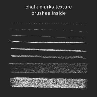 Chalk lines texture