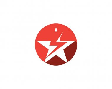 Star icon logo template icon