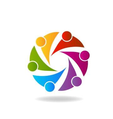 Logo Teamwork union business people