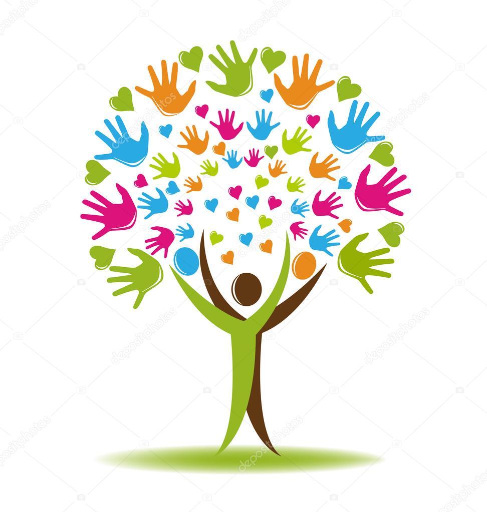boom logo handen en harten � stockvector 169 glopphy 102568644