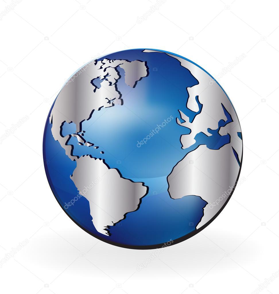 Map world globe stock vector glopphy 124121500 map world globe stock vector gumiabroncs Gallery