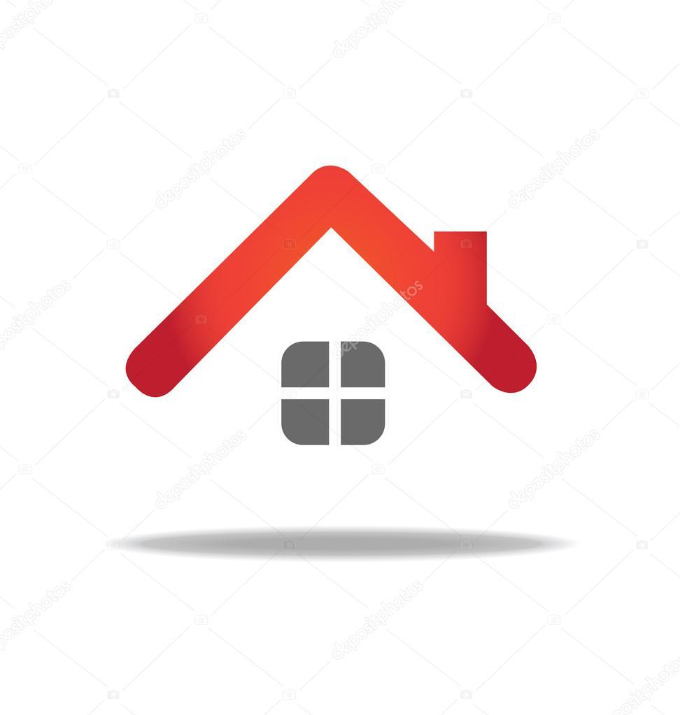 Modelo de design de logotipo de vetor de casa vetor de for Logo arredamento