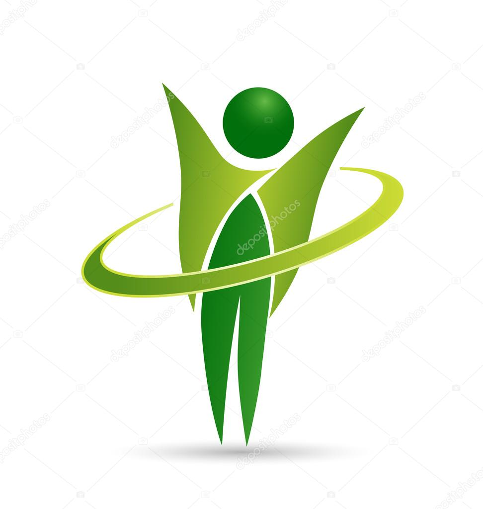 Healthy life web logo design
