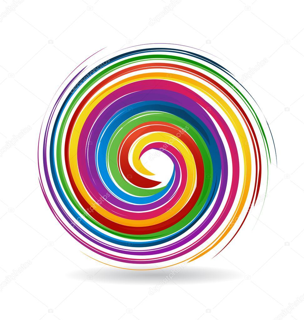 Spiral waves logo